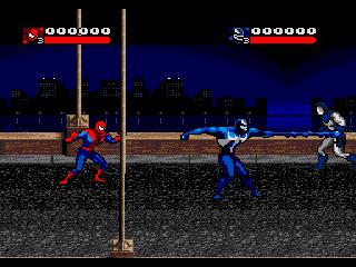 скачать игру Sega человек паук - фото 3